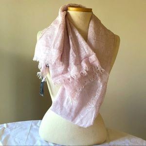 FRAAS Scarf Wrap Pink NWT